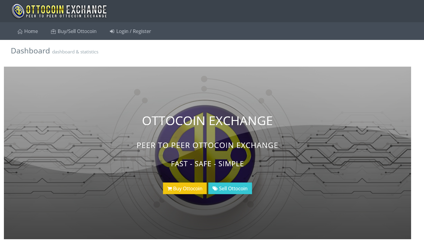 ottocoin exchanger